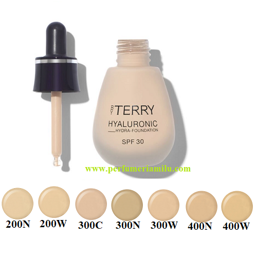 BY TERRY, HYALURONIC HYDRA-FOUNDATION SPF30, Base de aquillaje, 30 ml.