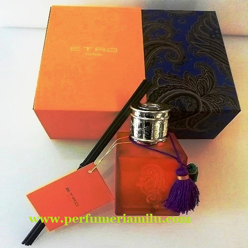 ETRO, EOS KIT ORANGE, Perfume de hogar mikado, 250 ml.