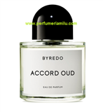 BYREDO, ACCORD OUD, Fragancia perfume, Edp. 100 ml.