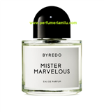 BYREDO, MISTER MARVELOUS, Fragancia perfume, Edp. 100ml.