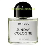 BYREDO, SUNDAY COLOGNE, Fragancia perfume, Edp. 100 ml.