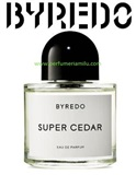 BYREDO, SUPER CEDAR, Fragancia perfume, Edp. 100 ml.