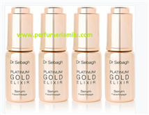 DR. SEBAGH, PLATINUM GOLD ELIXIR, Sérum anti-edad intensivo, 4 X 10 ml.