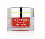 DR SEBAGH, SUPRÊME NIGHT SECRET, Crema reparadora de noche, 50 ml.