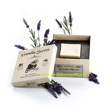 GAMILA SECRET, LAVANDER HEAVER, Jabón natural y artesanal, 115 gr.