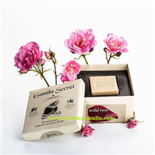 GAMILA SECRET, WILD ROSE, Jabón natural y artesanal, 115 gr.