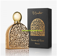 M.MICALLEF, SECRET OF LOVE PASSION, Fragancia perfume,  Edp. 75 ml.