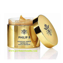 PHILIP B, RUSSIAN AMBER IMPERIAL GOLD MASQUE, mascarilla de cabello, 236 ml.